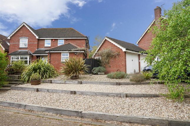 Thumbnail Detached house for sale in Coppice Close, Melton, Woodbridge