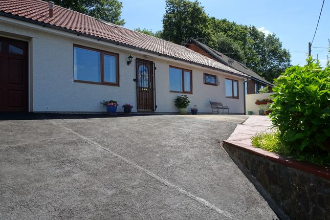Thumbnail Detached bungalow for sale in Swn-Yr-Adar, Woodfieldside, Blackwood