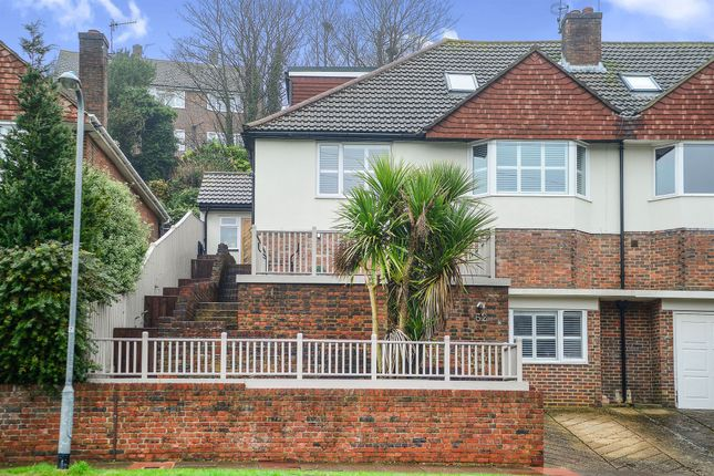 Thumbnail Semi-detached house for sale in Barn Rise, Brighton