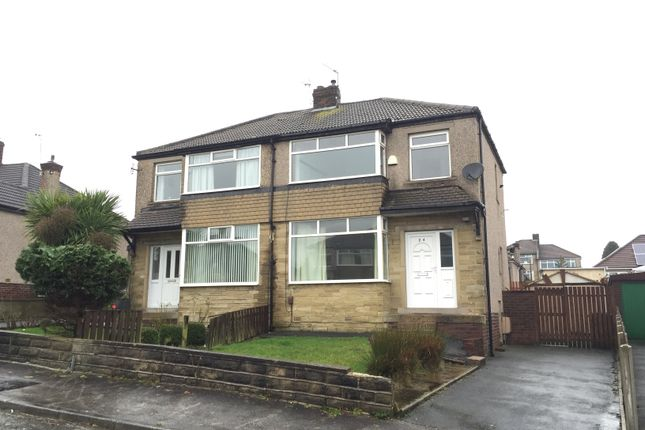 Thumbnail Semi-detached house to rent in Fairway, Bradford