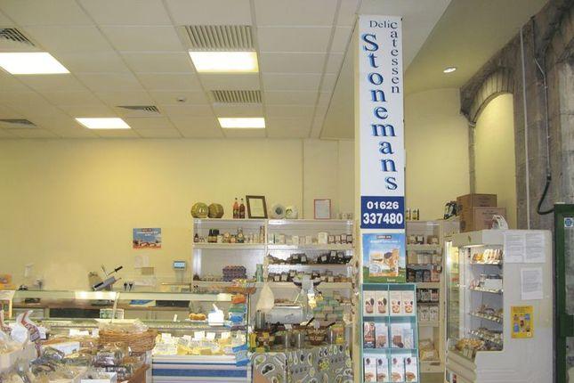 Retail premises for sale in Market Street, Newton Abbot