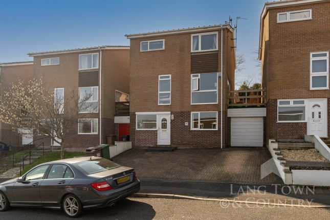 Thumbnail Link-detached house for sale in Lockington Avenue, Hartley, Plymouth, Devon