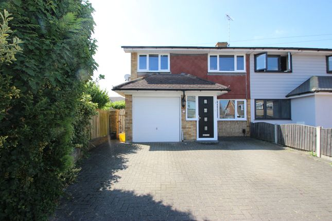 Thumbnail Semi-detached house for sale in The Fairway, Benfleet