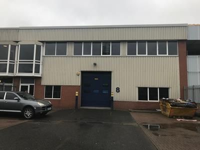 Thumbnail Light industrial to let in Unit 8, Abbey Mead Estate, Waltham Abbey