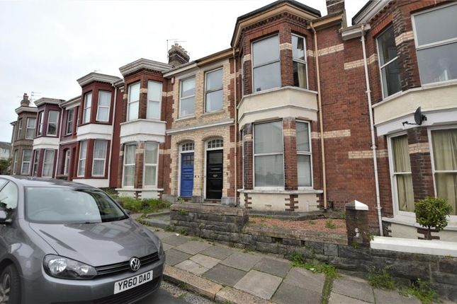 Thumbnail Terraced house for sale in Hamilton Gardens, Mutley, Plymouth