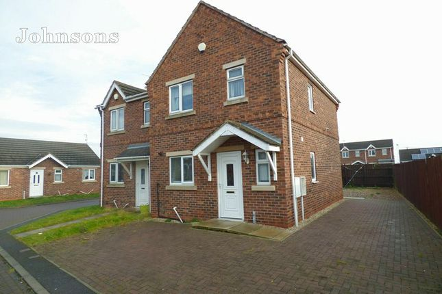 Thumbnail Semi-detached house for sale in Sunnymede View, Askern, Doncaster.