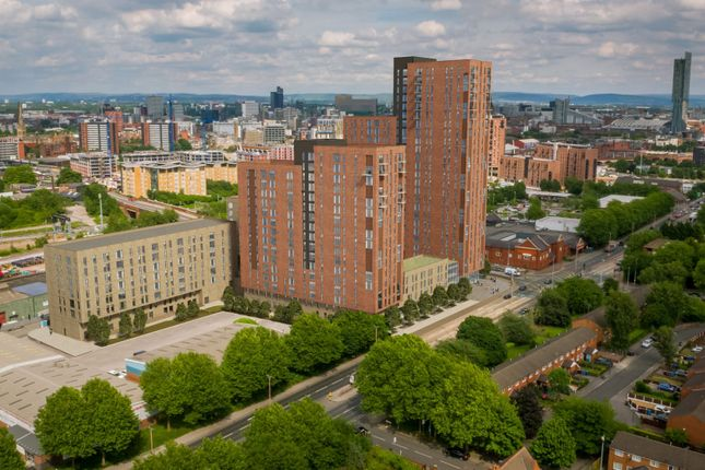 Thumbnail Town house for sale in Regent Plaza, Regent Road, Manchester