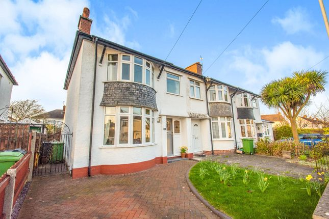 Thumbnail End terrace house for sale in Westbourne Road, Whitchurch, Cardiff