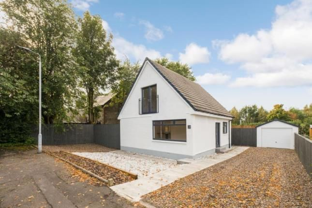 Thumbnail Detached house for sale in Churchill Avenue, Johnstone, Renfrewshire