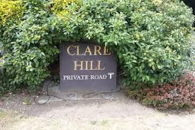 Thumbnail Detached house for sale in Clare Hill, Esher