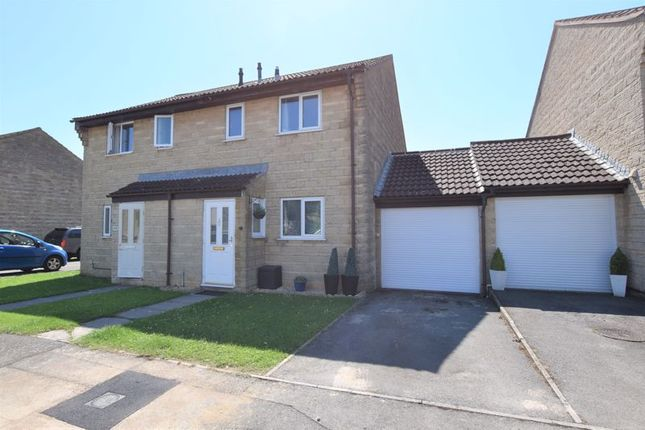 Thumbnail Semi-detached house for sale in St. Johns Road, Timsbury, Bath