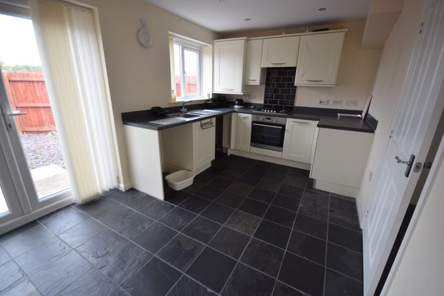 Thumbnail Semi-detached house to rent in Barnacle Place, Newcastle-Under-Lyme
