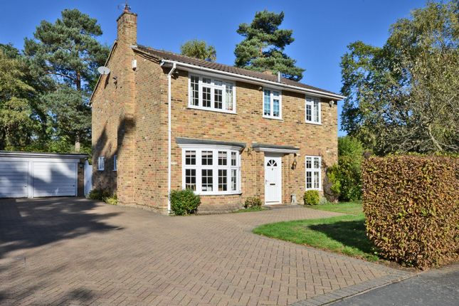 Thumbnail Detached house to rent in Hillsborough Park, Camberley