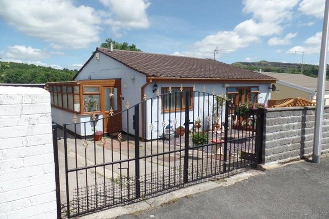 Thumbnail Detached bungalow for sale in High Trees, Trefechan, Merthyr Tydfil