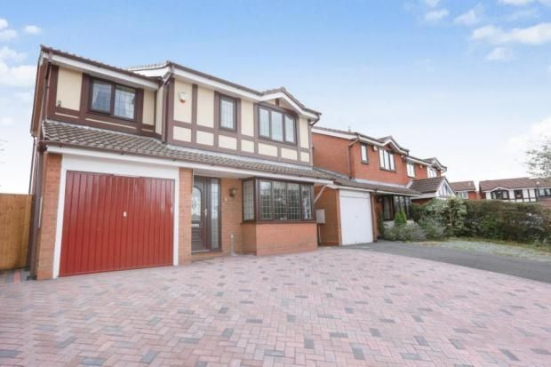 Thumbnail Detached house for sale in Maree Grove, Willenhall