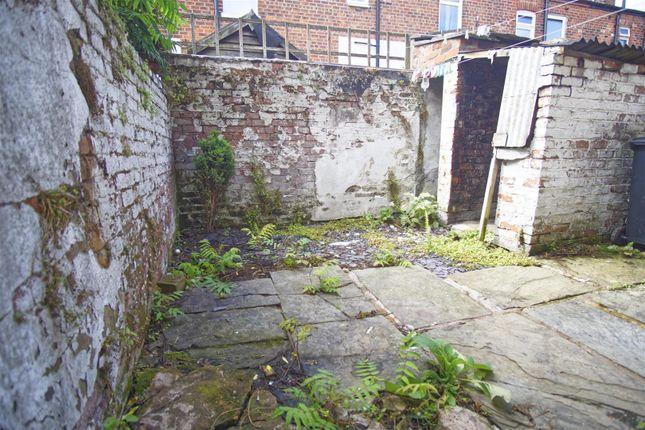 Back Yard of Priory Street, Ashton-On-Ribble, Preston PR2