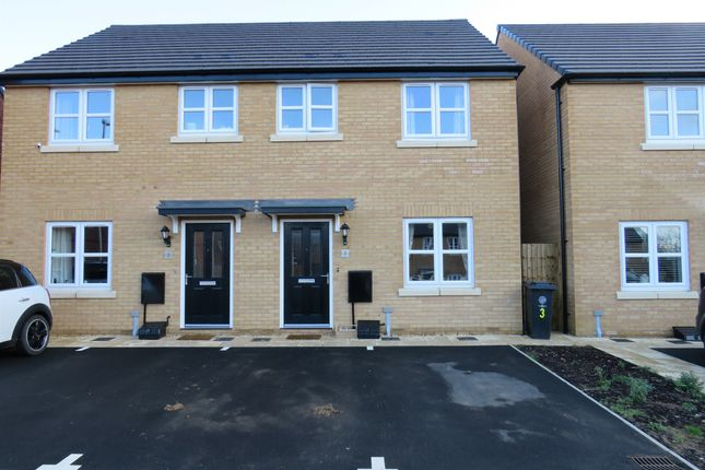 Thumbnail Semi-detached house for sale in Blackberry Close, Higham Ferrers, Rushden