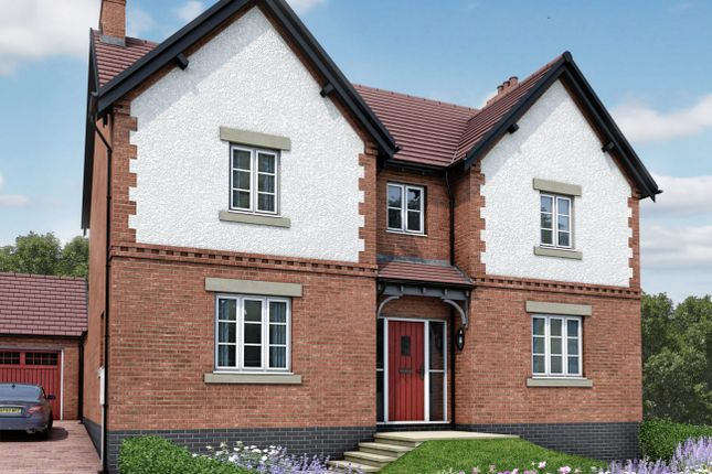 Thumbnail Detached house for sale in Moira, Leicestershire