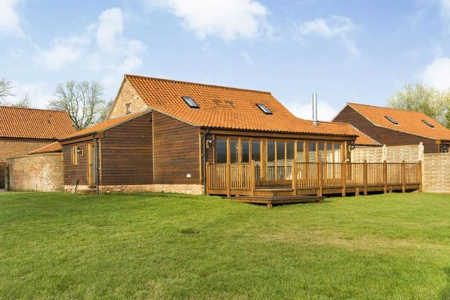 Thumbnail Barn conversion for sale in Grange Road, Wendling, Dereham