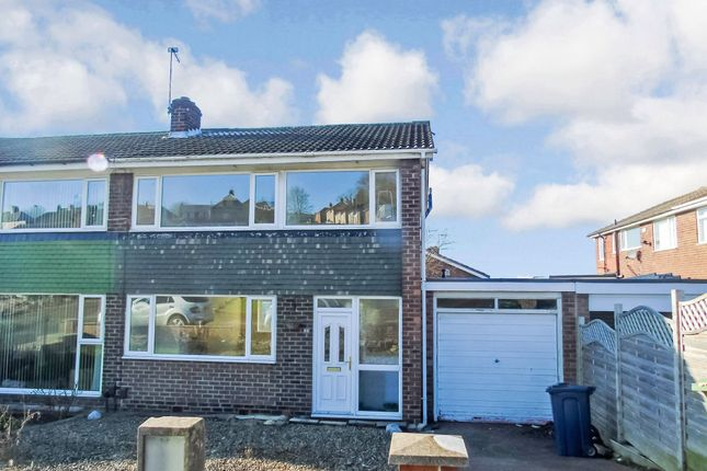 Thumbnail Semi-detached house to rent in Gleneagles Road, Gateshead