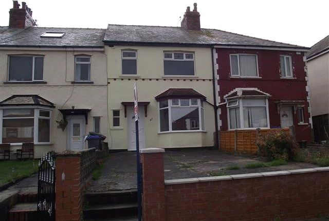 Thumbnail End terrace house to rent in Cavendish Road, Blackpool, Lancashire