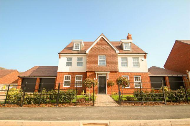 Thumbnail Detached house for sale in The Oaks, Barlaston, Stoke-On-Trent