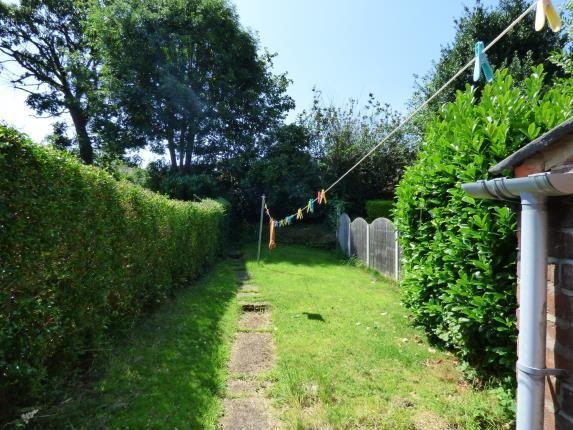 Garden of Springfield Road, Kings Heath, Birmingham, West Midlands B14