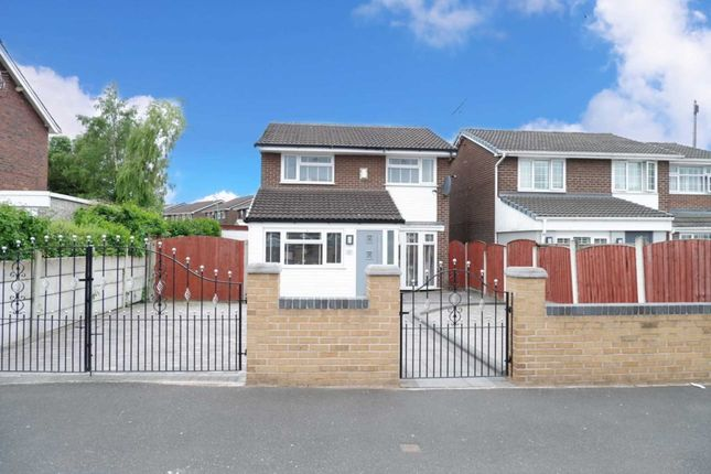 Thumbnail Detached house for sale in Hall Lane, Simonswood, Liverpool