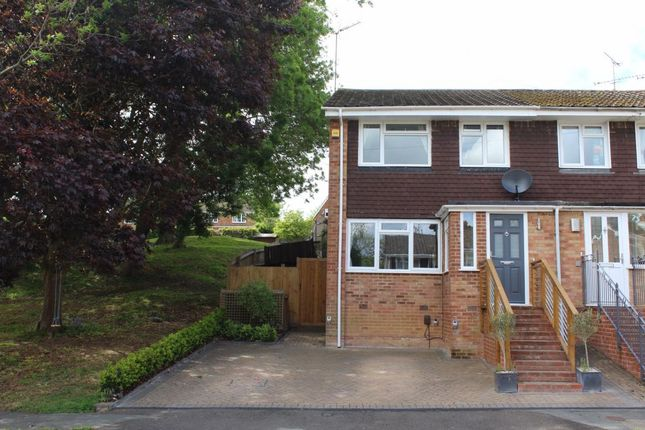 Thumbnail End terrace house for sale in White Cottage Close, Farnham