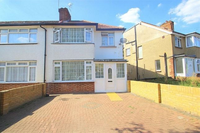 Thumbnail End terrace house to rent in Waltham Avenue, Hayes, Middlesex