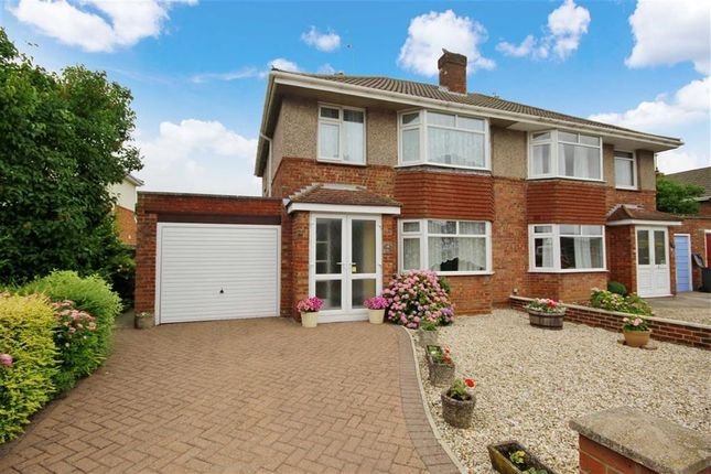 3 bed semi-detached house for sale in Frilford Drive, Stratton, Swindon