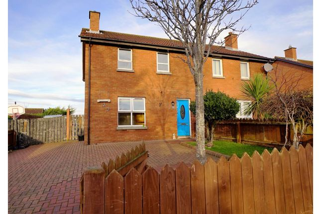 Thumbnail Semi-detached house for sale in Darragh Road, Comber