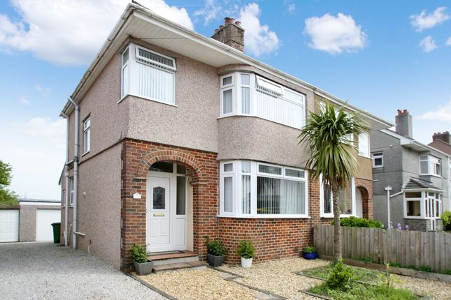 Thumbnail Semi-detached house to rent in Lester Close, Higher Compton, Plymouth