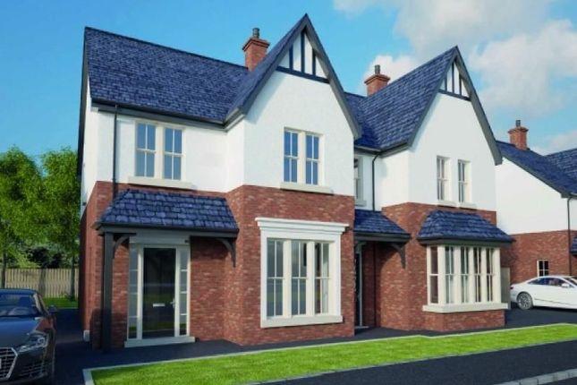 Thumbnail Semi-detached house for sale in Downview Road, Greenisland, Carrickfergus