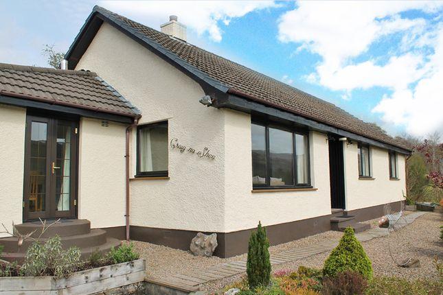 Thumbnail Detached bungalow for sale in Anaheilt, Strontian