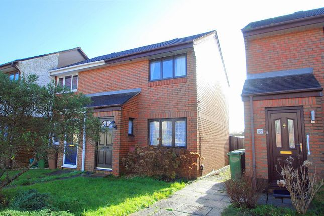 Thumbnail End terrace house for sale in Finch Close, Laira, Plymouth