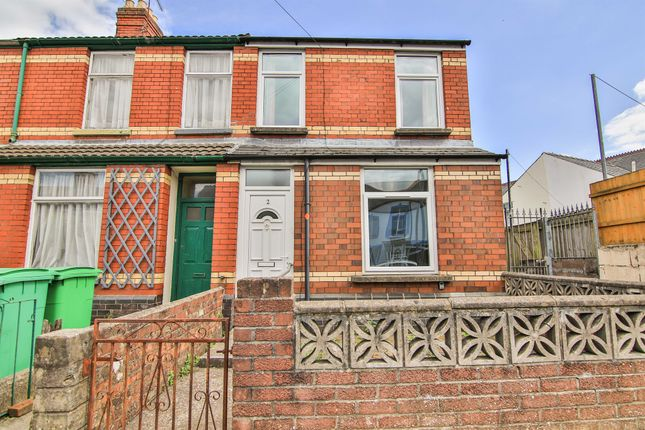 Thumbnail End terrace house for sale in Blosse Road, Llandaff North, Cardiff