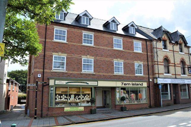 Thumbnail Flat to rent in Apartment 4 Tasey House, Market Street, Market Street, Newtown, Powys