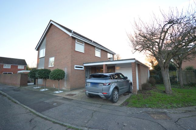 Thumbnail Detached house for sale in Redmill, Colchester