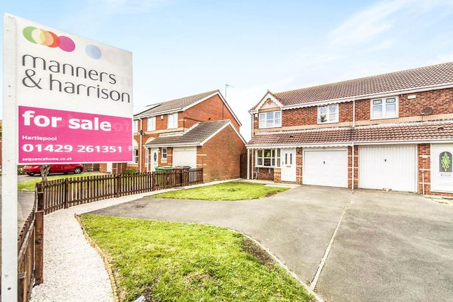 Semi-detached house for sale in Brunel Close, Hartlepool