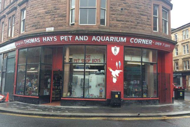 Thumbnail Retail premises for sale in Osborne Street, Glasgow