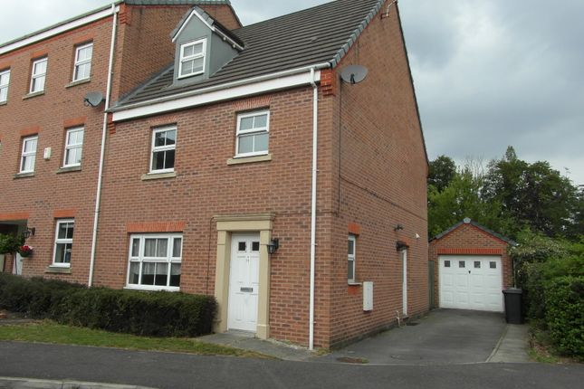 Thumbnail Semi-detached house to rent in Garden Walk, Spinneyfield, Rotherham