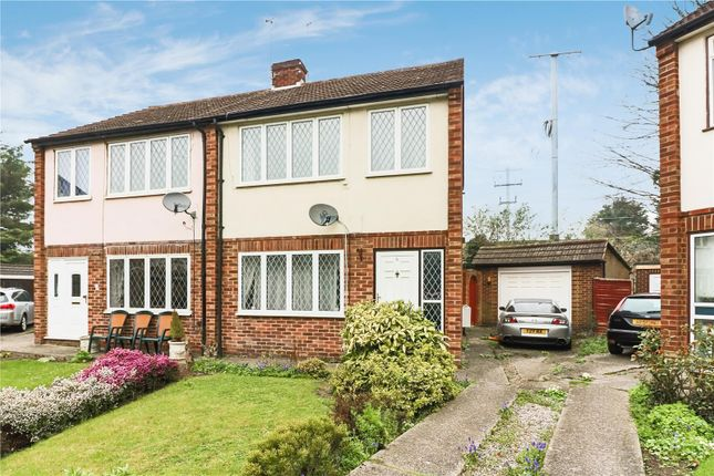 Thumbnail Semi-detached house for sale in Fairway Close, West Drayton