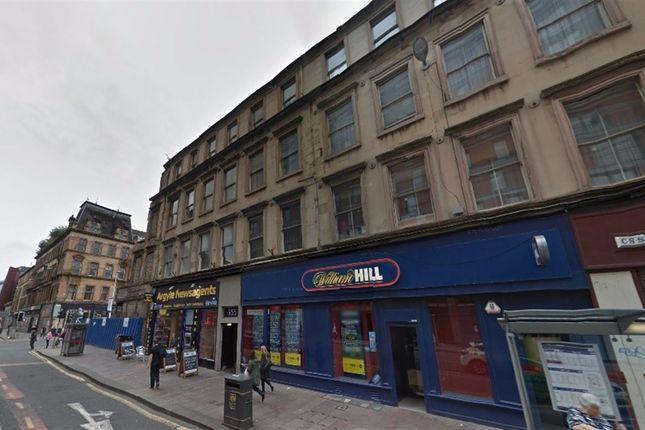 Thumbnail Flat to rent in Argyle Street, City Centre, Glasgow