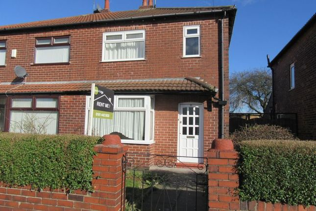 Thumbnail Semi-detached house to rent in Lambeth Road, Stockport