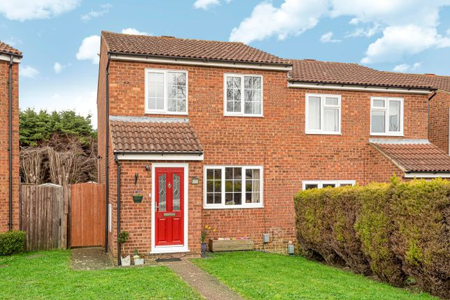 Thumbnail Semi-detached house for sale in Eagle Drive, Flitwick