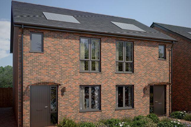 Thumbnail Semi-detached house for sale in The Elham, Godington Way, Ashford, Kent