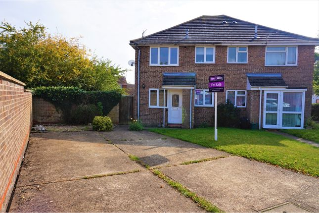 Thumbnail End terrace house for sale in Henrietta Close, Colchester