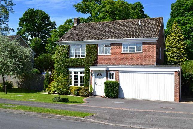 Thumbnail Detached house for sale in Conifer Crest, Wash Common, Newbury, Berkshire