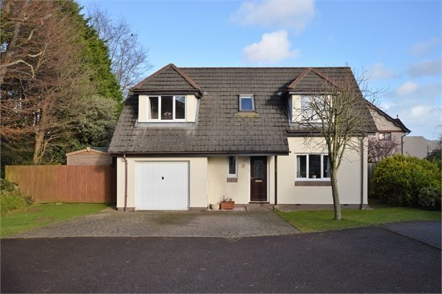 Thumbnail Detached house for sale in Wolborough Gardens, Newton Abbot, Devon.